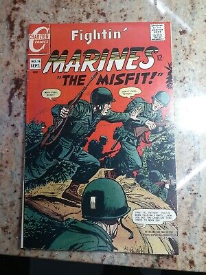 "Fightin' Marines ""The Misfit!"" Silver Age Comic Book Charlton Comics 1967"
