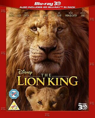 Disney The Lion King (Live Action) 2019 - 3D AND 2D Blu-Ray PREORDER