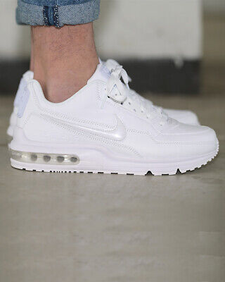 Nike Scarpe Sneakers Sportive Air Max Bianco leather ltd lifestyle Uomo