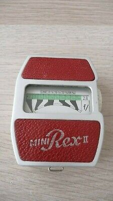 vintage mini rex 2 light meter