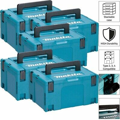 Makita Construction Storage Box Type 3 Pack 5 MakPac Stacking Connector Case