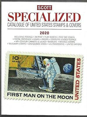 2020 Scott Specialized Catalogue of United States Stamps & Covers  NEW UNUSED