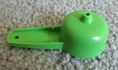 Tupperware Mini Funnel #877 Apple Green for Salt & Pepper Shakers & Spice Bottle