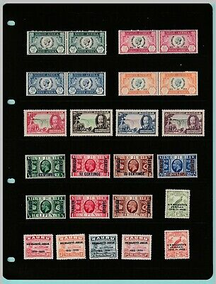 Stamps - British  Commonwealth - More Stamps Of George V Silver Jubilee Stamps