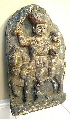 Large Near East Stone Temple Carving - INDIA - 17th Century or Earlier