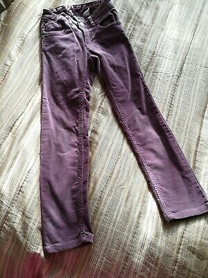 Girls Velvet Trousers H&M, Age 5/6yrs