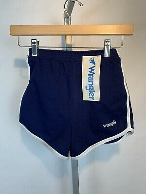 NOS Vintage Wrangler Gym Shorts Size M (10-12) Track Made In USA With Tags (G28)