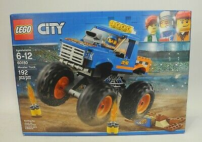 LEGO City Monster Truck 60180 Building Kit (192 Piece) NEW IN SEALED BOX