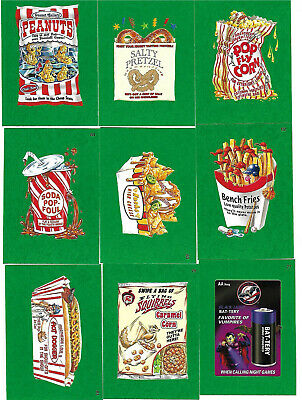 Wacky Packages Baseball 2016 Series 65 Grass Parallel Chase Card Lot Topps 2016