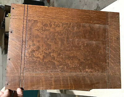 Antique Singer Treadle Sewing Machine Parlor Drop Cabinet REAR BACK PANEL, VGC