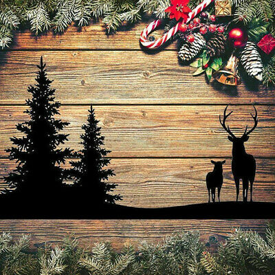 Deer Forest DIY Metal Cutting Dies Stencil Mold Scrapbooking Paper Cards Craft