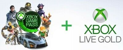 7 Day Xbox Live Gold And Game Pass./(2 Codes, See Description, Email Delivery)