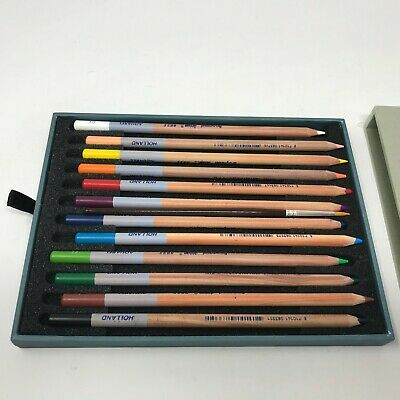 Bruynzeel Design - High Quality Boxed Artist 12 Colored Pencils Holland Crafts