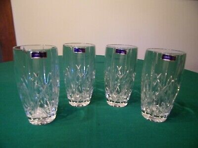 Marquis By Waterford Four Brookside Hiball Flat Glasses