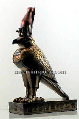 Egyptian Horus The Falcon-The Protector God-Gold  Bronze Finish