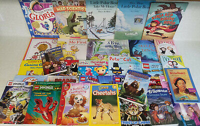 32 All Accelerated Reader Picture Book Lot 3rd Grade Level 3.0-3.9 TEACHER AR