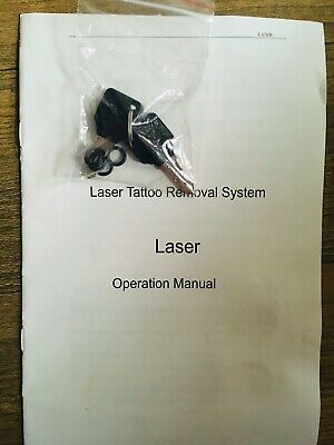 Laser Tattoo Eyebrow eyelid Pigment Removal Beauty Machine Key Set And Manual
