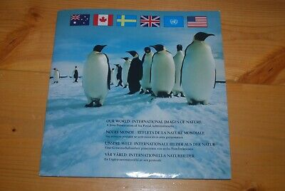 Weeda Canada TC42 Our World 1989 Joint issue Thematic Collection folder CV $25