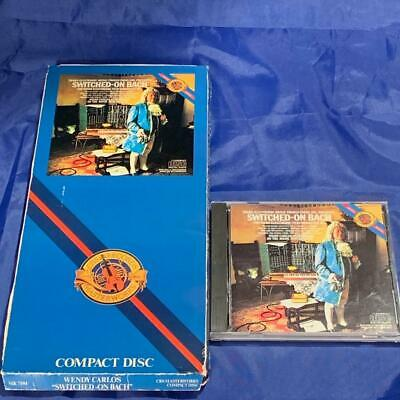 CD Long Box Wendy Carlos SWITCHED-ON BACH Rare Synthesizer Record