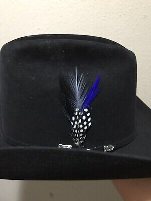 Classic Fedora Hat Band Cowboy Lincoln Victorian Hat Feathers