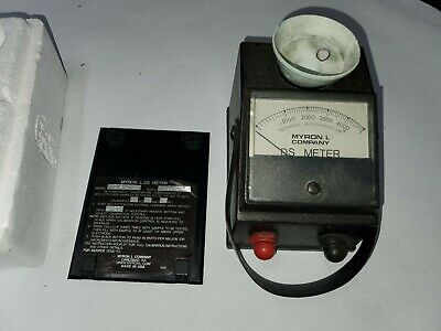 Myron L 512M5 Conductivity Meter 0 to 5,000ppm untested used