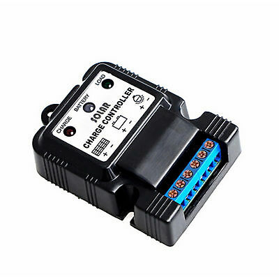 Auto Solar Panel Charge Controller Battery Charger Regulator 6V 12V 10A US