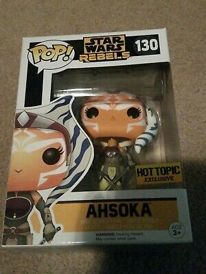 Funko POP! Star Wars: Rebels Hot Topic Exclusive Ahsoka Tano #130