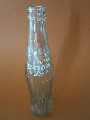 Lebanon K Cola Glass Bottle Arabic Script Coke Pepsi KIK Crush Soda Pop 7Up