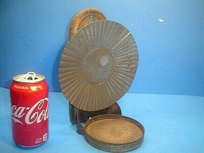 Antique Wall Mount Oil Lamp Holder With Reflector