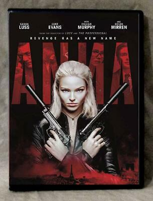 Anna (DVD 2019) Brand New-Released 9/24-Action/Thriller-Choose Shipping Method!