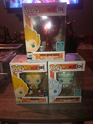 Funko Pop! Dragonball Z Pop Lot Of 3