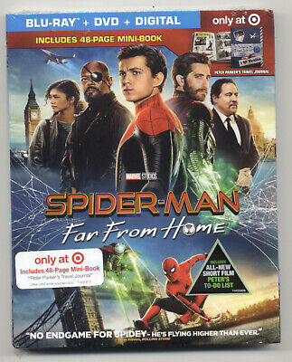 Spider-Man: Far From Home Blu-ray/DVD/Digital, 2019 Target Exclusive