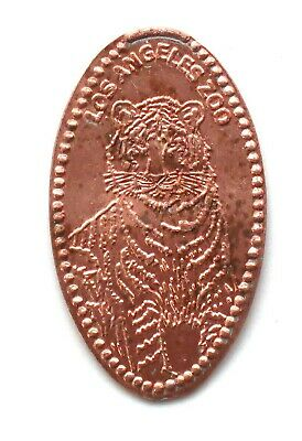 LOS ANGELES ZOO  elongated penny