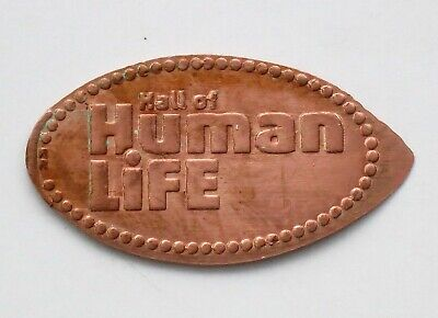 hALL OF HUMAN LIFE - MUSEUM OF SCIENCE  elongated penny
