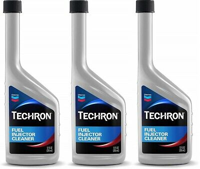 Chevron Techron Fuel Injection Cleaner 12 oz. (Pack of 3) Free Shipping!