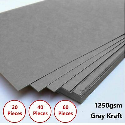A4 Gray 1250gsm Cardboard Chipboard Boxboard 2mm Recycled Card Packaging