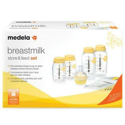 Medela Breastmilk Store & Feed Set with Unique Feeding Device