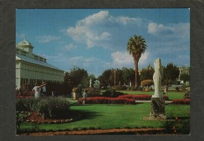 e2873)   POSTCARD OF THE CONSERVATORY GARDENS BENDIGO IN VICTORIA AUSTRALIA