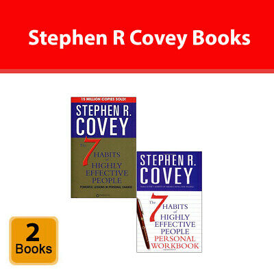 The 7 Habits of Highly Effective People Stephen R. Covey Paperback NEW