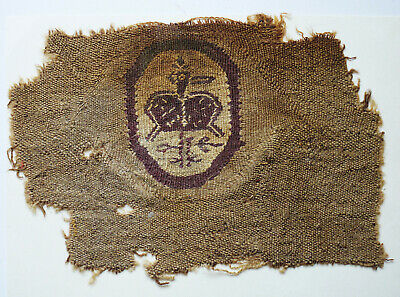 Ancient Coptic Textile Fragment - Bird Pattern, Egypt, Christian Arts