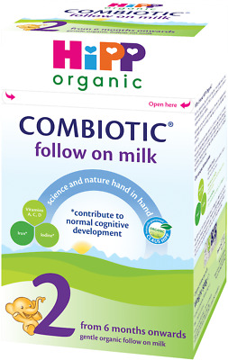 Hipp Organic Combiotic Follow On Milk Powder Stage 2 (6 months onwards) - 800g