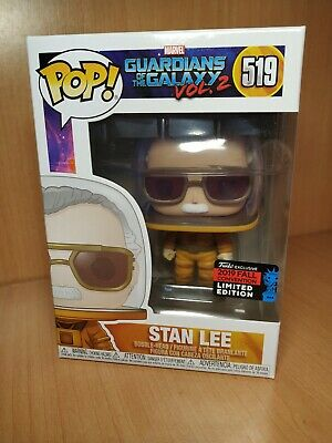 Funko pop Stan lee nycc 2019 Guardians of the Galaxy 2: Stan Lee Cameo STOCK