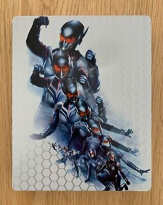 Bluray Ant-man & the Wasp Steelbook 4K (Marvel) - comme neuf - titre tranche