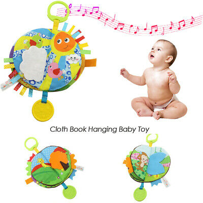 Baby Educational Toys Cloth Book Early Learning Toys Hanging Baby Toy