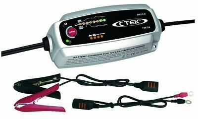 CTEK MXS 5.0 Lead - Acid Battery Charger 8 Step Fully Automatic Charging Cycle