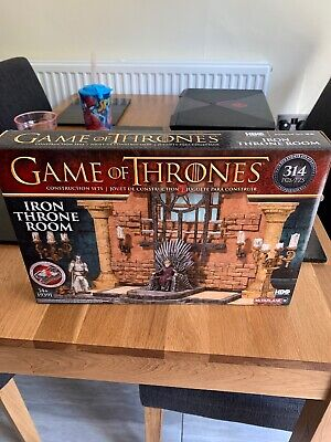 Very Rare Game Of Thrones Iron Throne Room McFarlane Lego Brand New And Sealed.