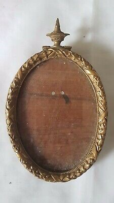 Probably French 19Th Century Gilt Metal Frame, Classical Design