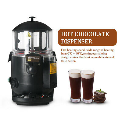 5L Electric Commercial Chocofairy Hot Chocolate Dispenser Machine Drink Beverage