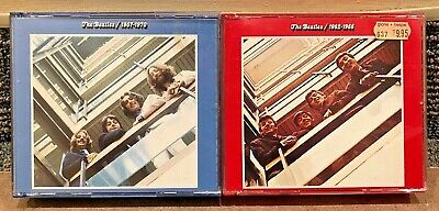The Beatles Lot 2x IMPORT CDs - 1962-1966 (Red) & 1967-1970 (Blue) SHIPS FAST