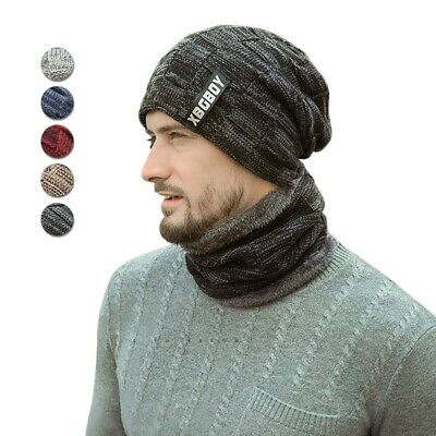 RESULT WINTER HAT BEANIE TWO TONE GREY WINDPROOF CHUNKY KNIT DEEP HEM SUPER WARM